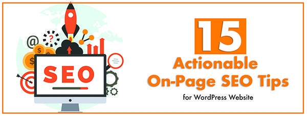 onpage optimization for wordpress website