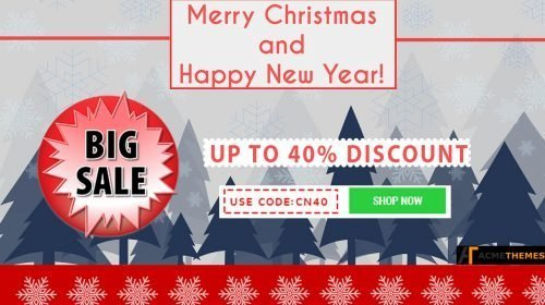 Acme Themes Christmas and New Year Sale 2017-2018