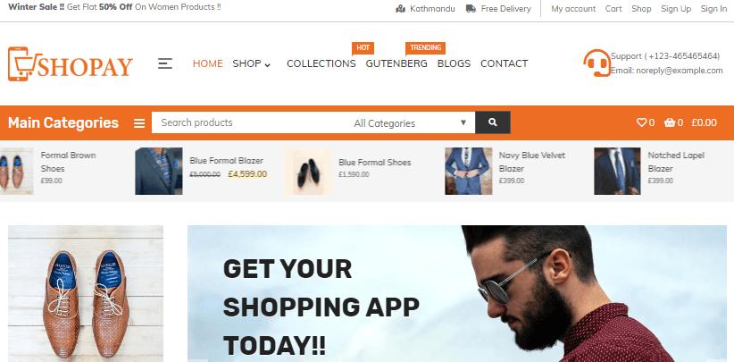shopay-free-e-commerce-wordpress-theme