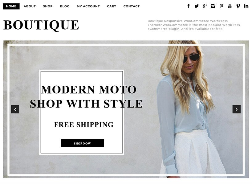 Boutique-WooCommerce-Theme-Free