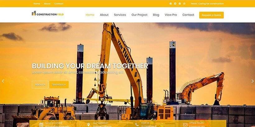 construction-field-free-wordpress-theme