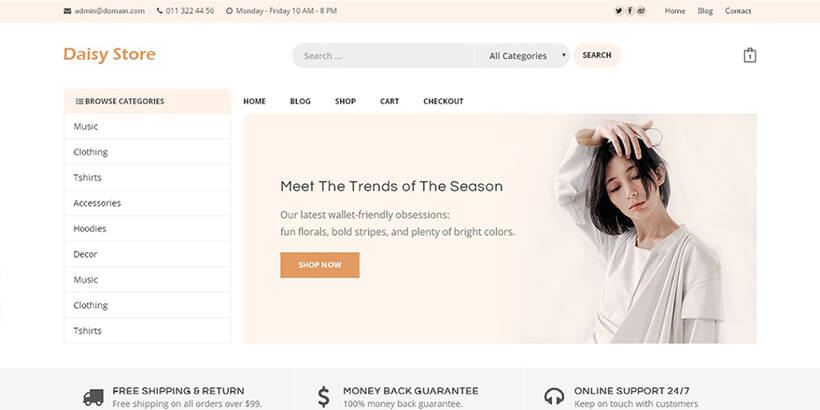 daisystore-free-woocommerce-themes