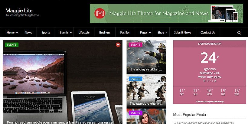 maggie-lie-free-wordpress-theme