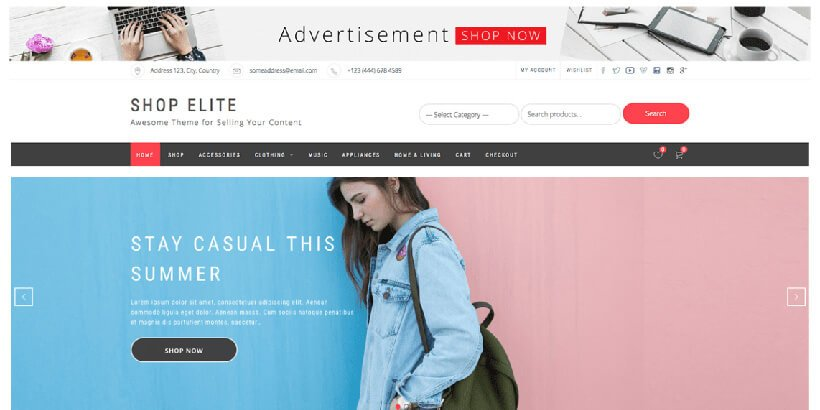 shopelite-free-wordpress-theme