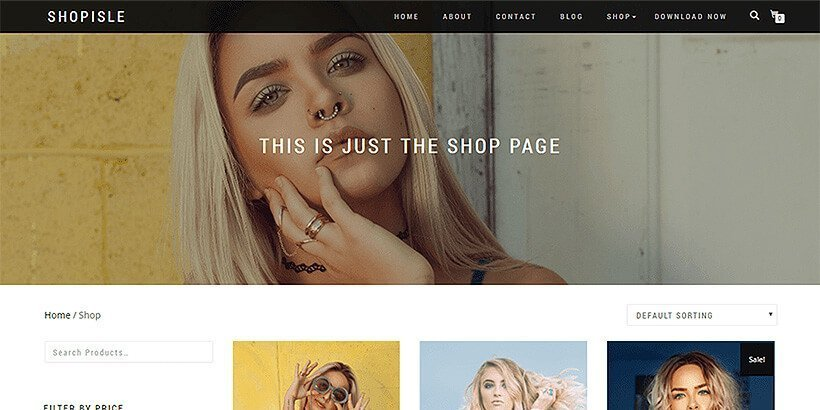 shopisle-free-wordpress-theme
