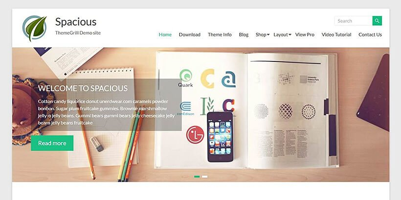 spacious-free-wordpress-theme