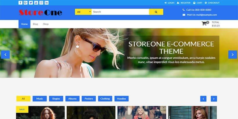 storeone-free-woocommerce-themes