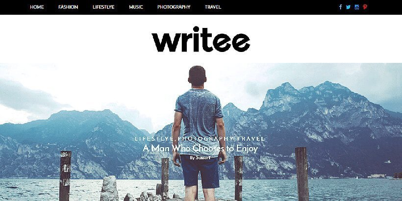 writee-free-wordpress-theme