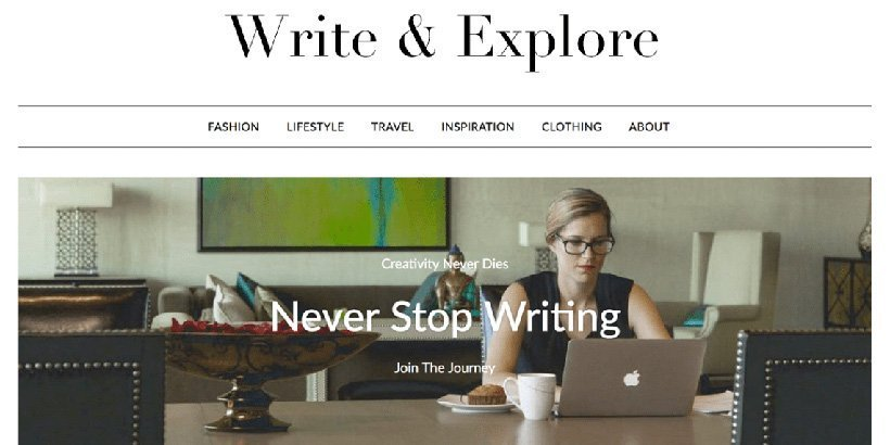 minimalist free wordpress blog themes