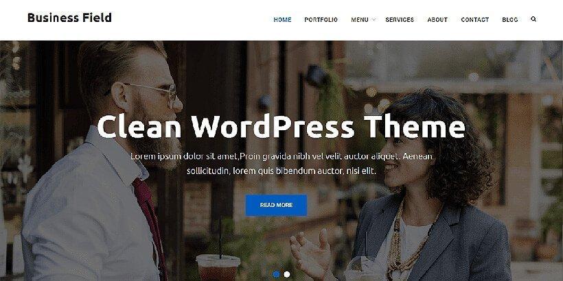 business field free wordpress business themes