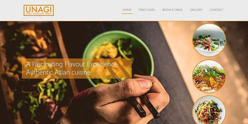 chinese restaurant free restaurant wordpress themes