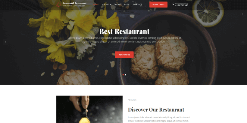 comoswp-restaurant-free-wordpress-theme