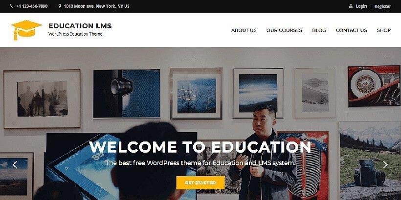 educationlms free education wordpress themes