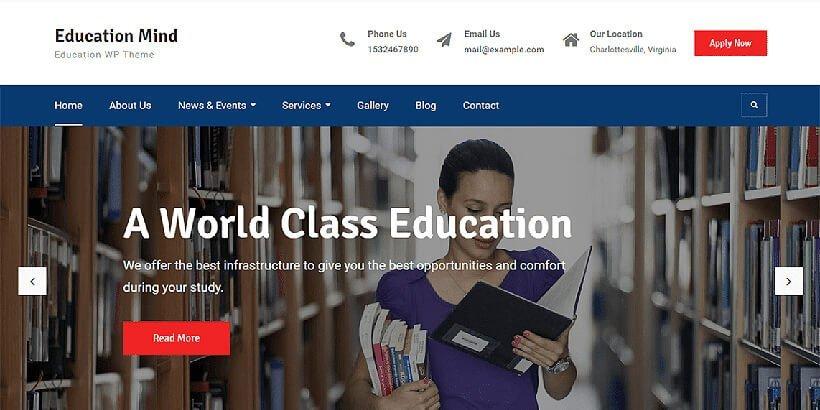 educationmind free education wordpress themes