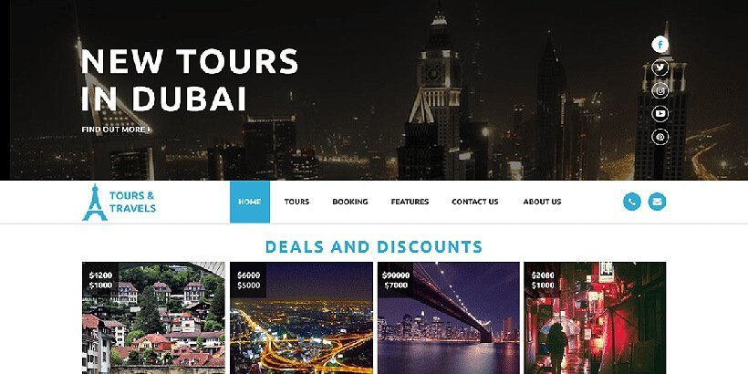 luxurytravel free wordpress travel themes