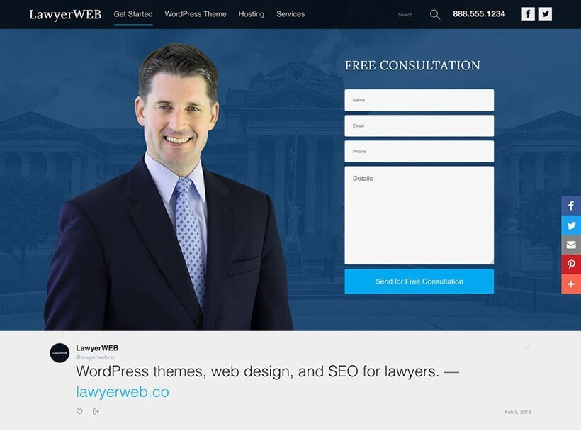 lawyer wp free lawyer wordpress themes