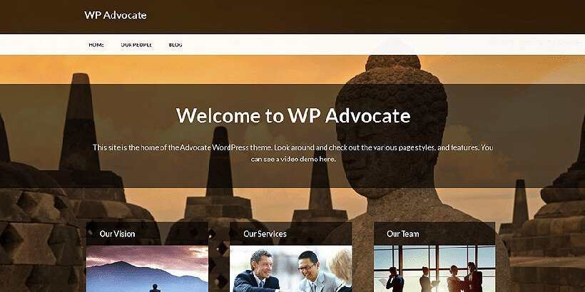 wpadvocate free lawyer wordpress themes