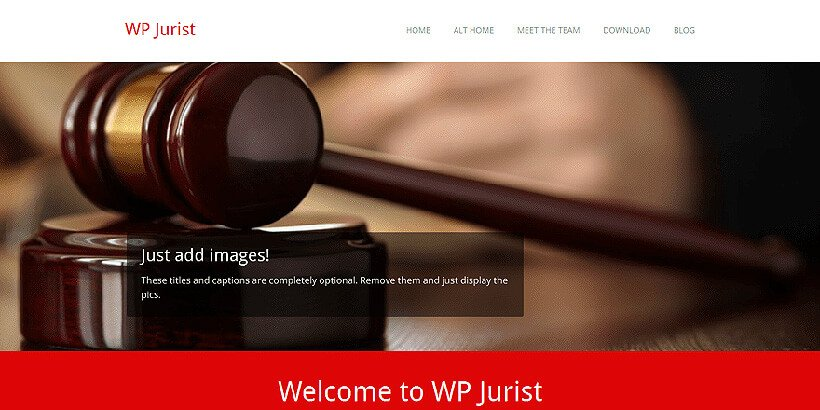wpjurist free lawyer wordpress themes