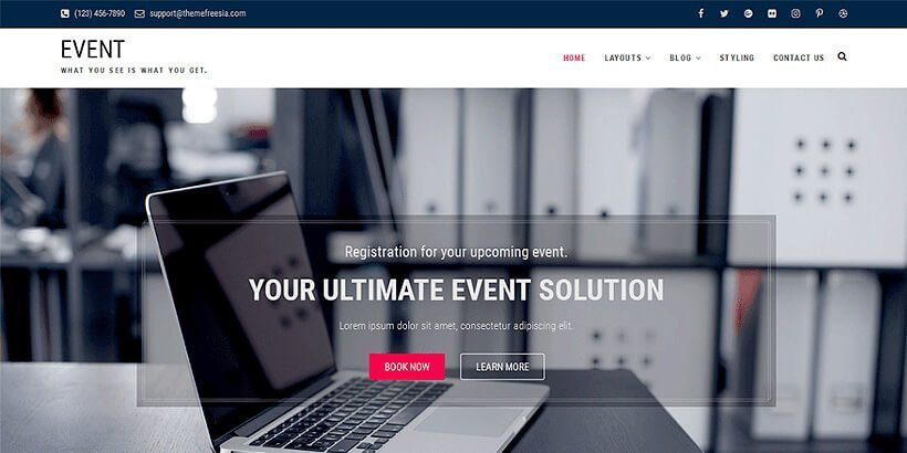 event free event wordpress themes