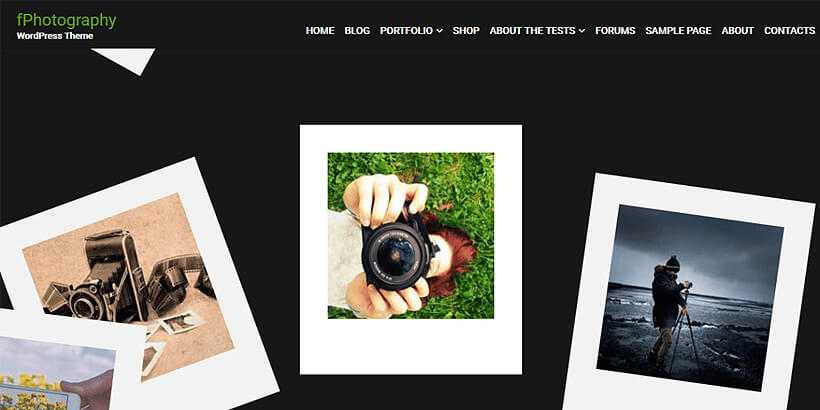 fphotography free photography wordpress themes