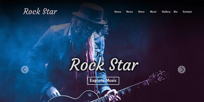 rockstar free event wordpress themes