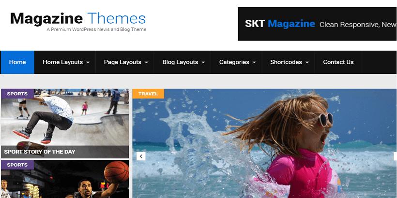 SKT-Magazine-20+ Best-Free-Magazine-WordPress-Themes-2020
