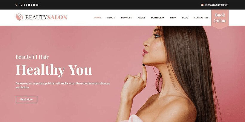 belleza free beauty wordpress themes