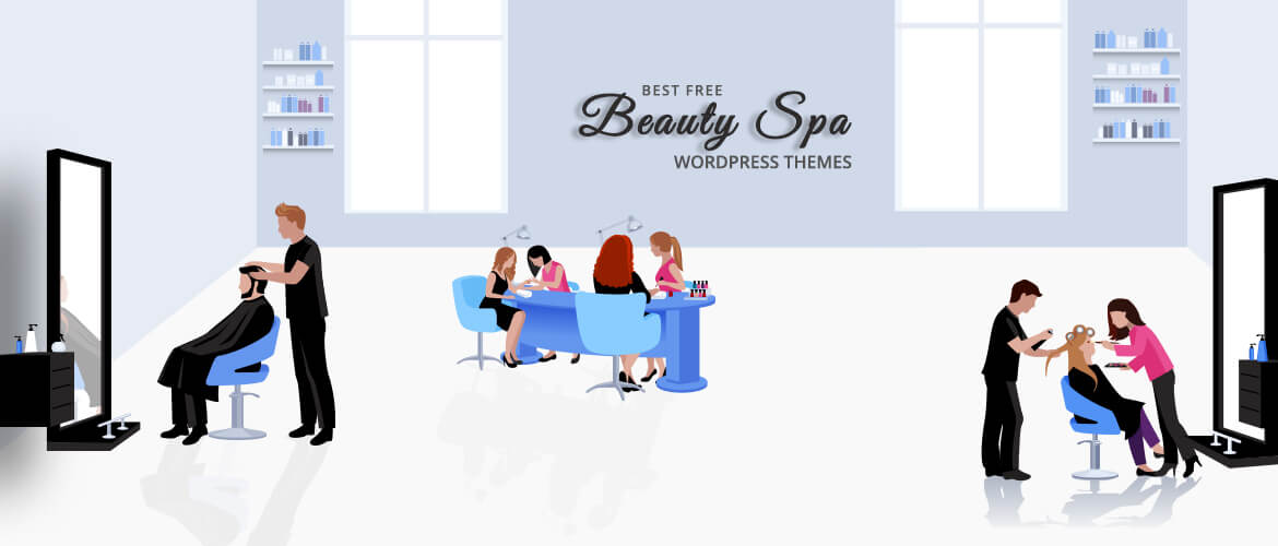 best free beauty spa wordpress themes