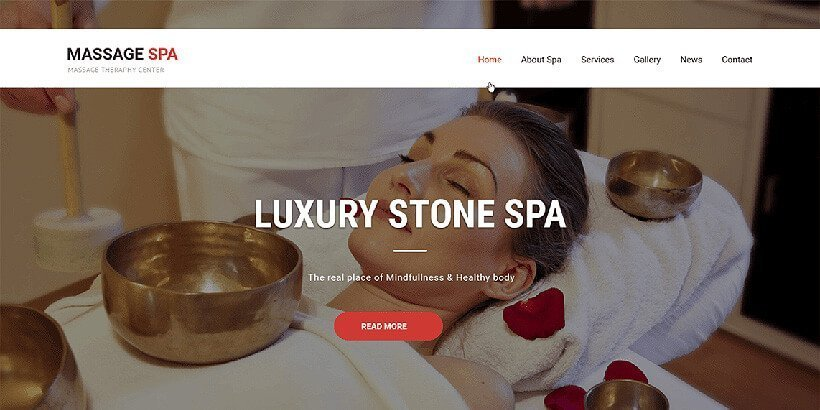 massage free beauty wordpress themes