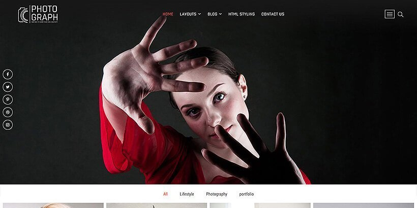 photograph free photography wordpress themes