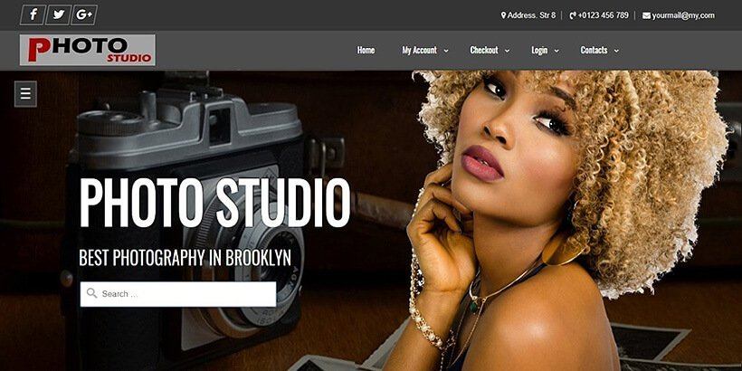 photostudio free photography wordpress themes
