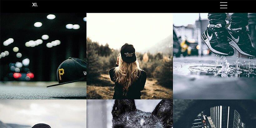 xiportfolio free portfolio wordpress themes