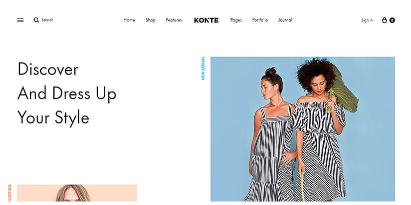 konte best woocommerce theme