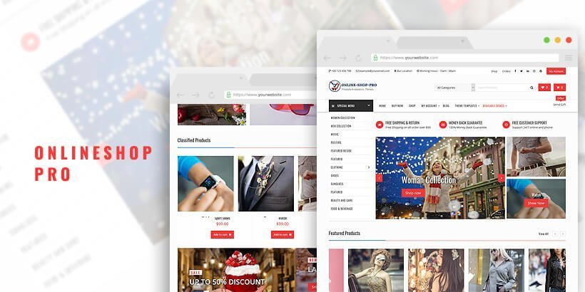 onlineshppro best woocommerce themes