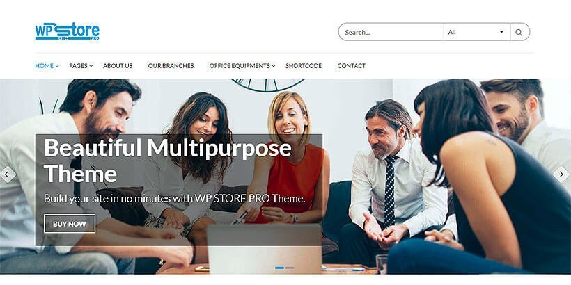 wpstore best woocommerce theme