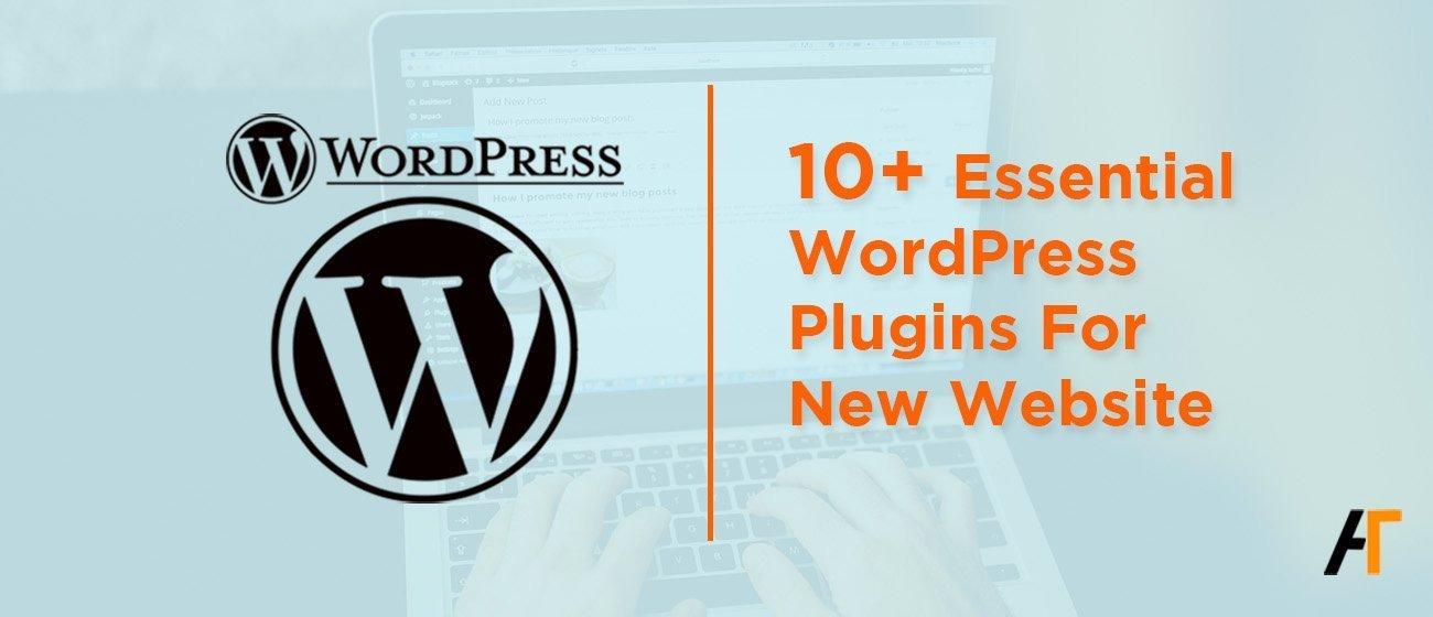 Essential WordPress plugins for new website website