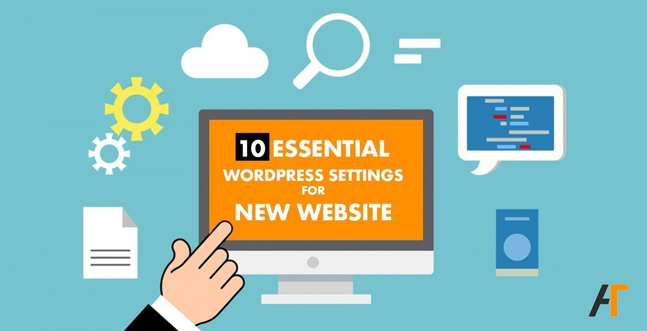 wordpress settings or new website