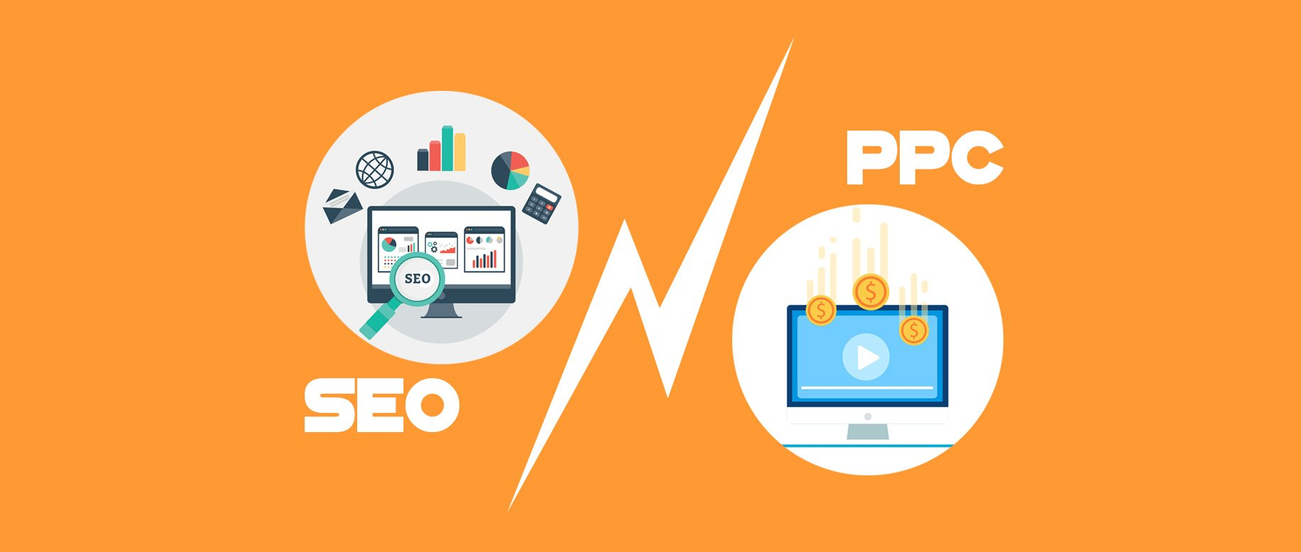 Image result for SEO Vs. PPC