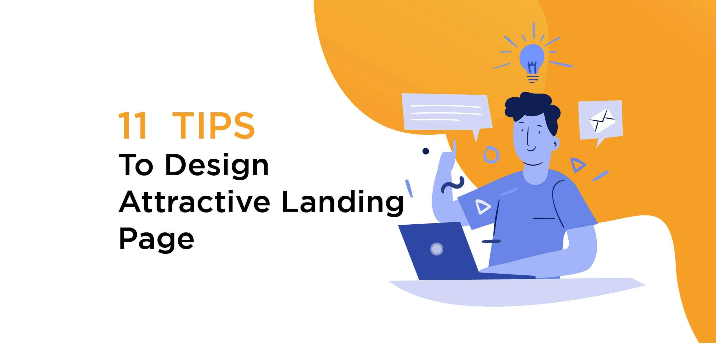 tip for desining landing page