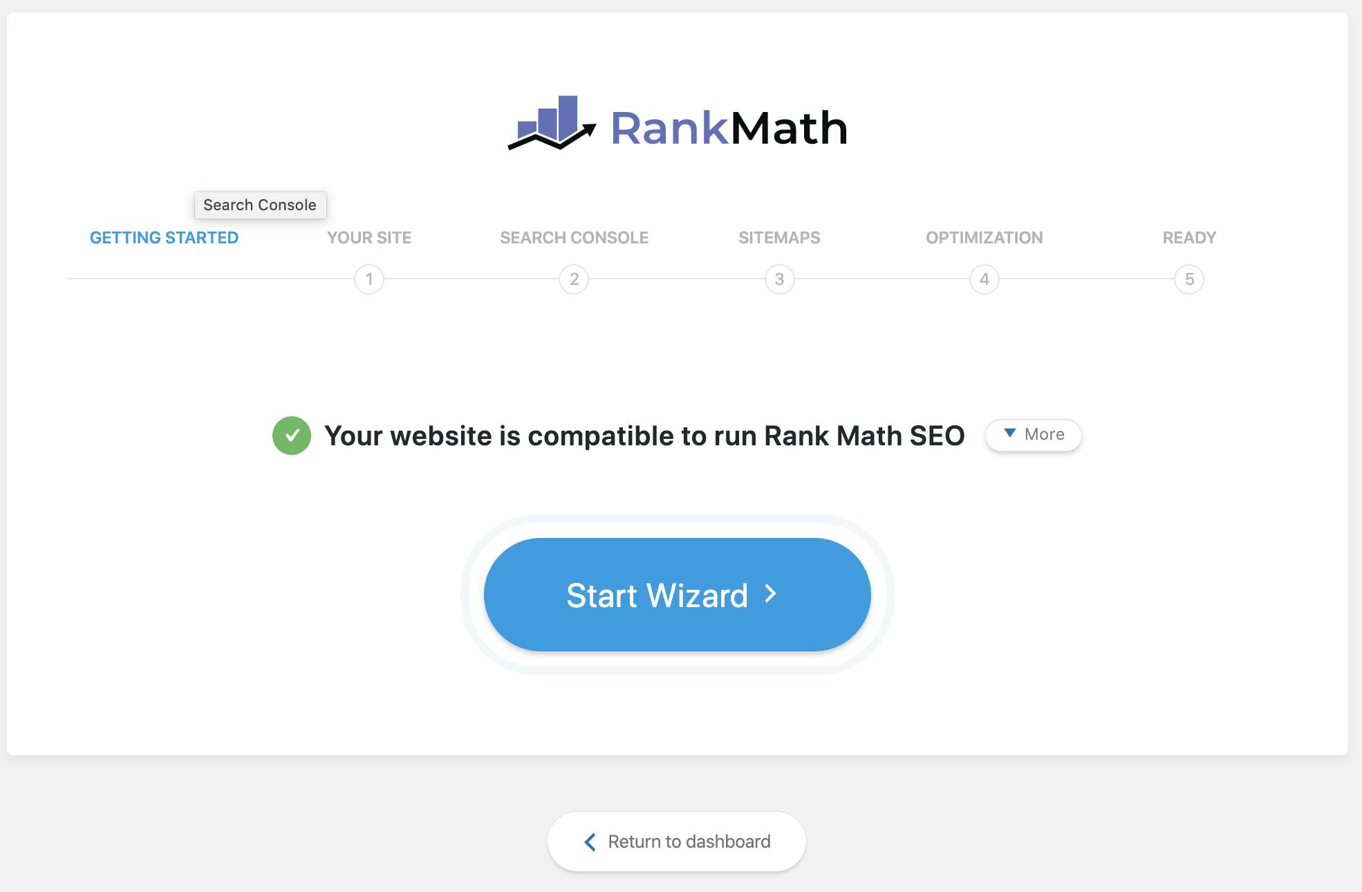 RankMath Setup