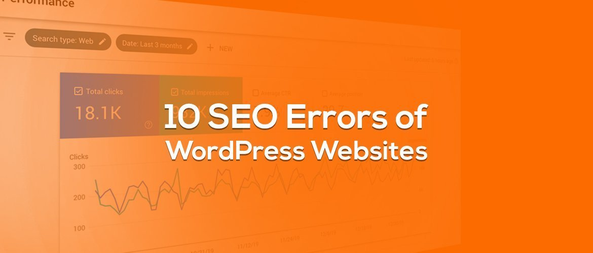 SEO Errors of wordpress websites