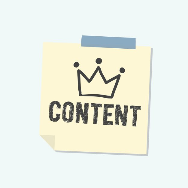 Content is king note