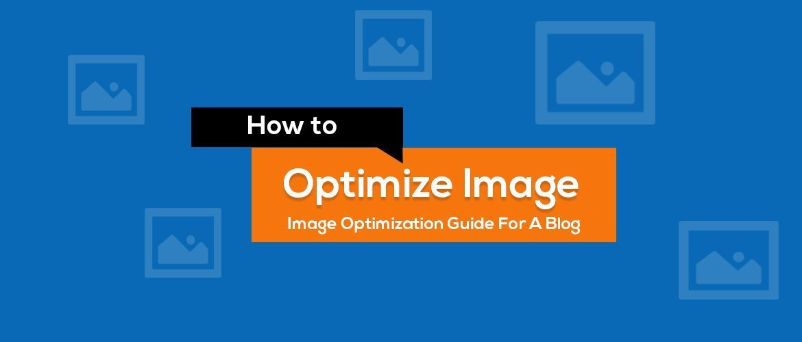 how to optimize image