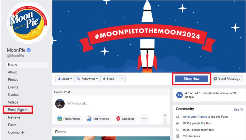 moonpie facebook page