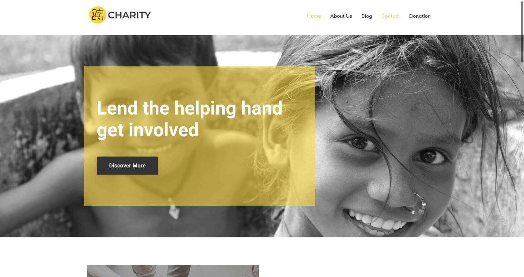 charity-pure-lite-by-cyberchimps-free-wordpress-theme