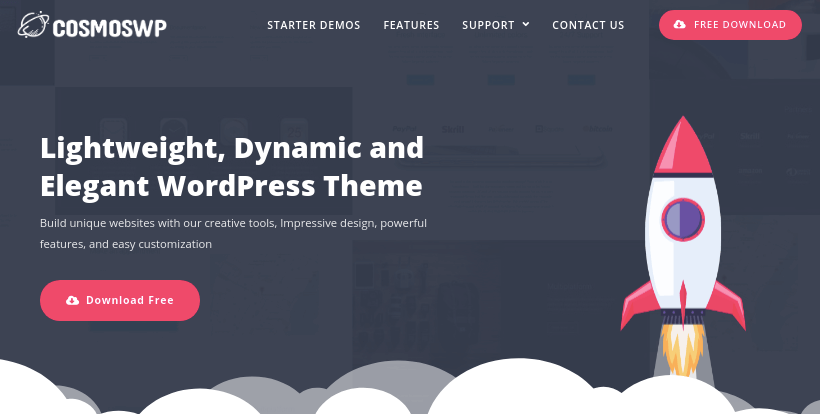 cosmoswp-most-advanced-free-wordpress-theme-masonry-grid-layout