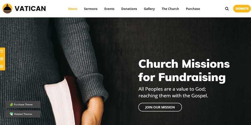 vatican-church-donation-charity-wordpress-theme