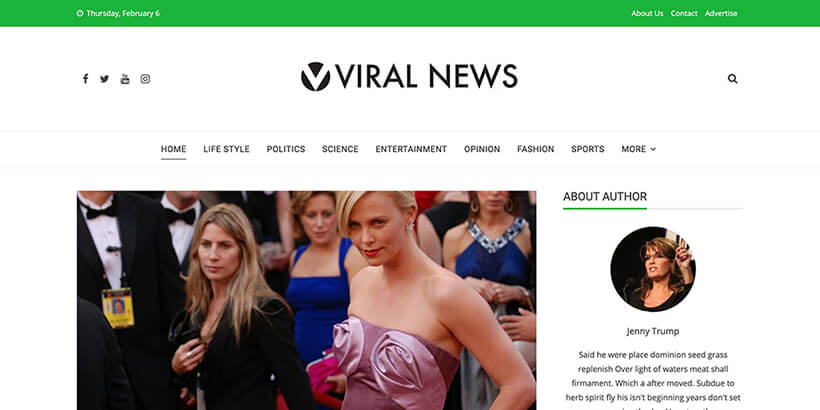 viral-news-writer-wordpress-theme-content-rich-blogs