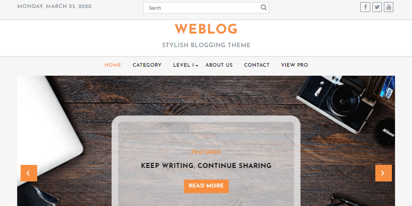 weblog-free-writers-bloggers-authors-wordpress-theme