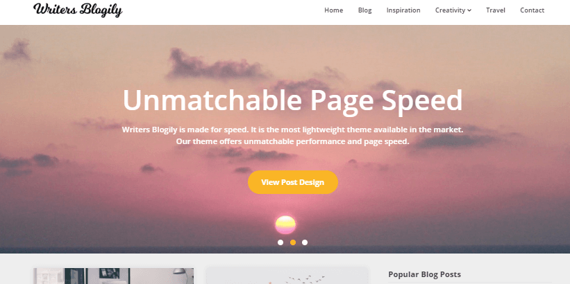 writers-blogily-super-fast-lightweight-free-wordpress-theme-for-writers